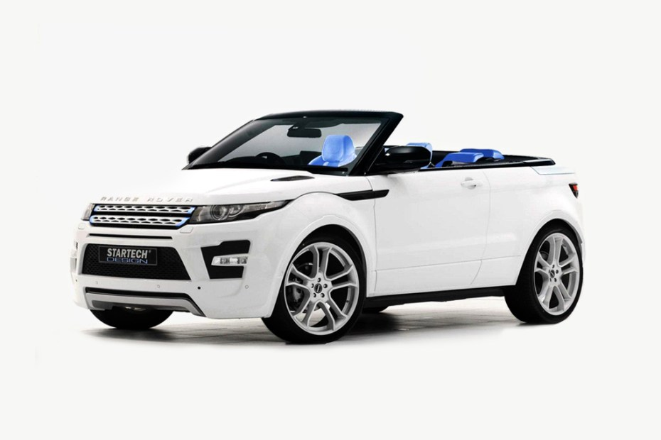 Image of Range Rover Evoque Cabrio by Startech Design