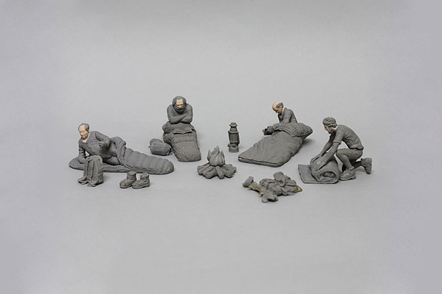 "Image of ……. Research - Mountain Research 2012 Spring ""Mountain Men"" Figures"