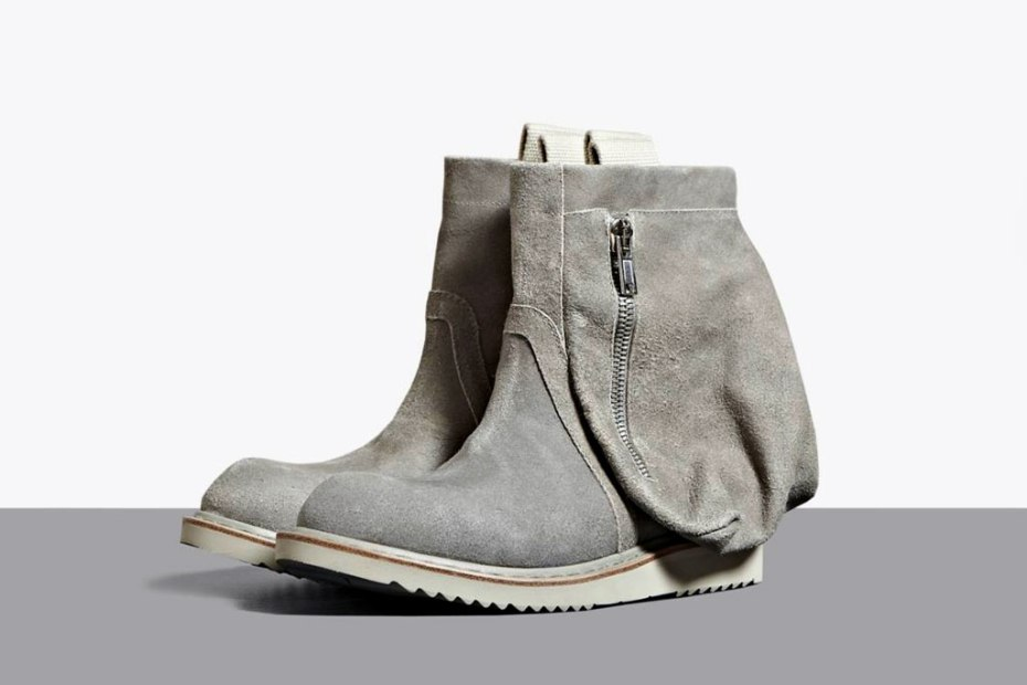 Image of Rick Owens 2012 Spring/Summer Desert Engineer Boots