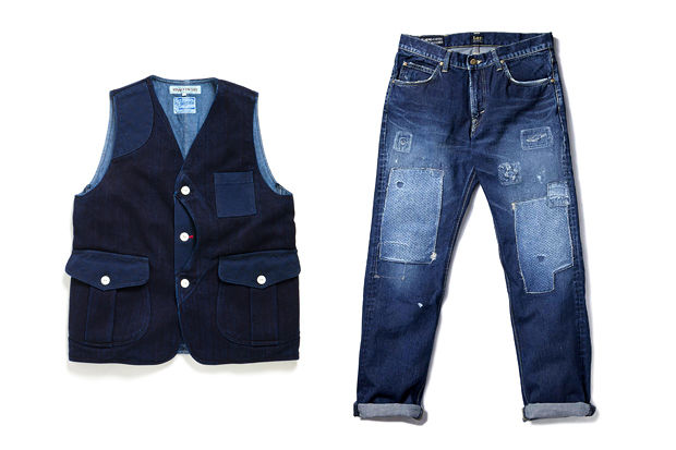 "Image of RUGGED FACTORY 2012 ""INDIGO FAIR"" Capsule Collection"