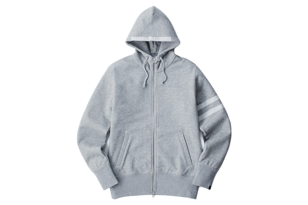 Image of rumors x Loopwheeler Limited Edition Zip Hoodie