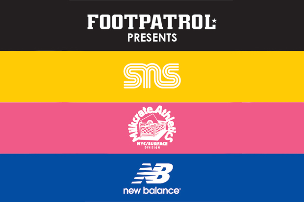 Image of Sneakersnstuff x Milkcrate Athletics x New Balance 577 London Release Event