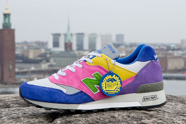 Image of Sneakersnstuff x Milkcrate Athletics x New Balance 577 Pack