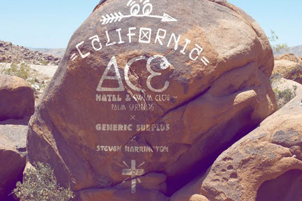 Image of Steven Harrington x ACE Hotel Palm Springs x Generic Surplus 2012 Capsule Collection Preview