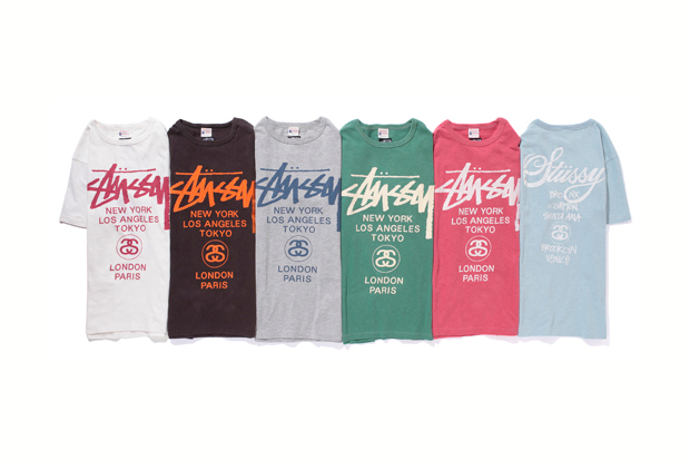"Image of Stussy x Champion ""Rochester"" Series"