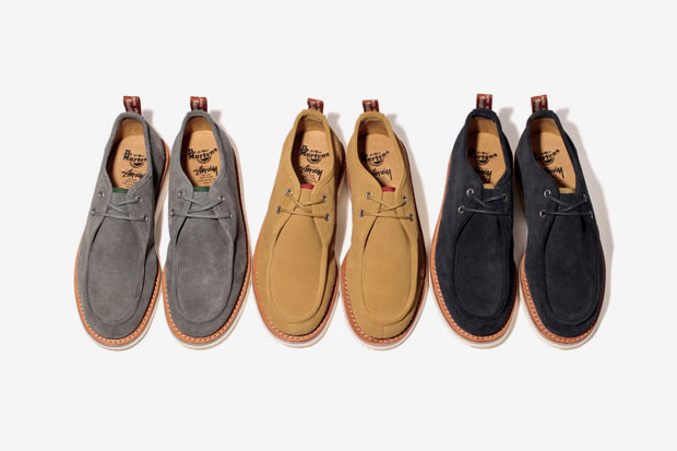 Image of Stussy Deluxe x Dr. Martens Hambleton ll