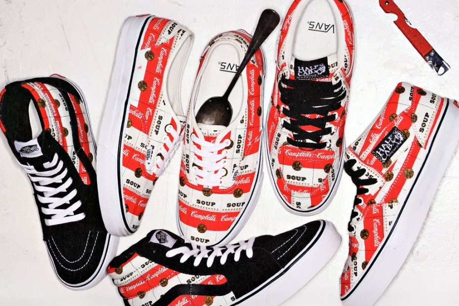 Image of Supreme x Vans Campbell's Soup Collection