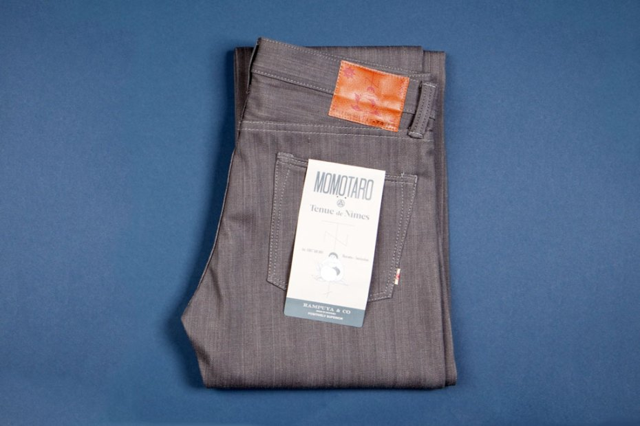 Image of Tenue de Nimes x Momotaro Dead Stock Sulphur Denim