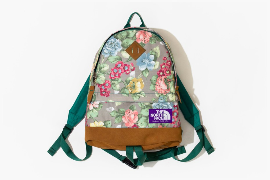Image of THE NORTH FACE PURPLE LABEL Floral Bag Collection