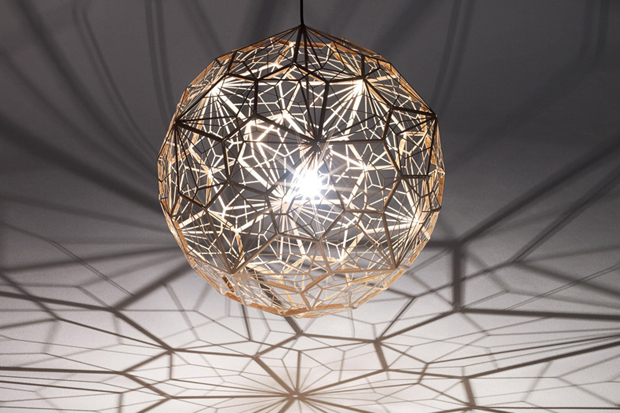 Image of Tom Dixon Etch Web Light Display