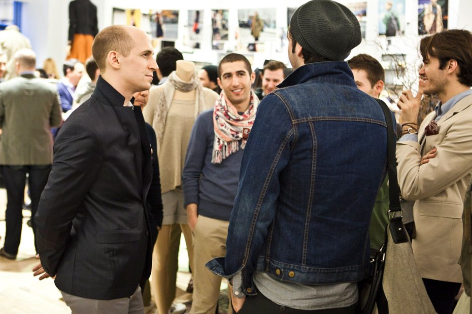 Image of Tommy Ton x Club Monaco Launch Recap