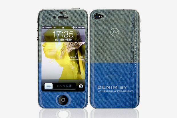 Image of DENIM by Vanquish x fragment design x Gizmobies iPhone 4/4S Skin