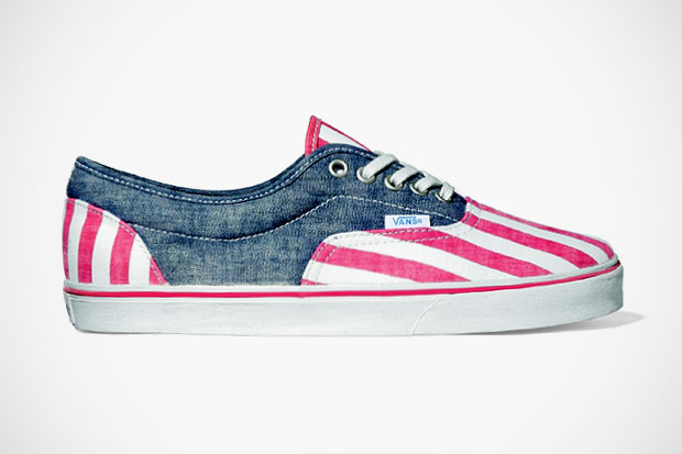 "Image of Vans California Lo Pro 2012 Spring/Summer ""Washed Stripe"""