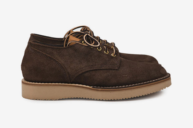 Image of Viberg Two Tone 145 Oxford Shoe