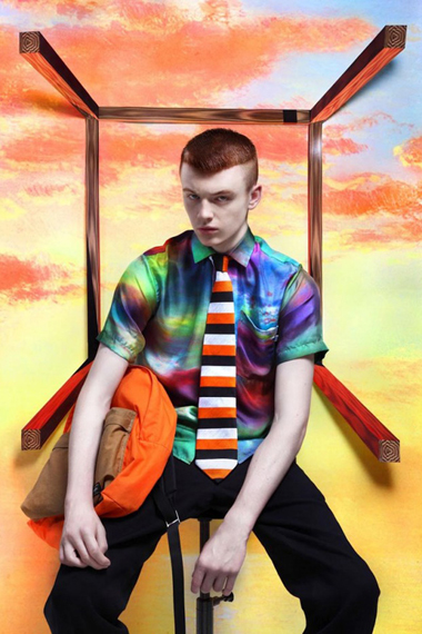 Image of Vogue Homme Japan: 2012 Printemps Été by Frederik Heyman