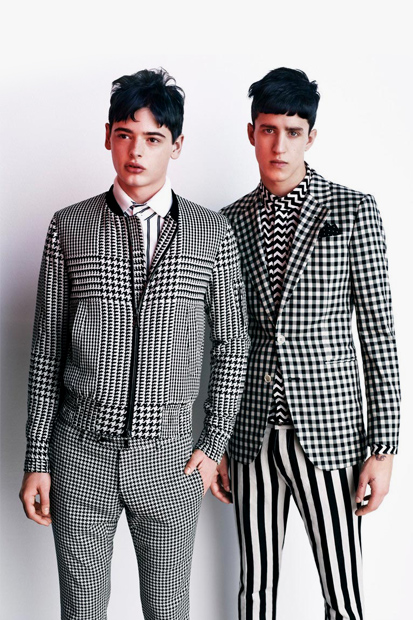 "Image of Vogue Hommes Japan 2012 Spring/Summer ""Generation to Generation"" Editorial"