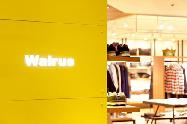 Image of Walrus Store Opening Shinjuku