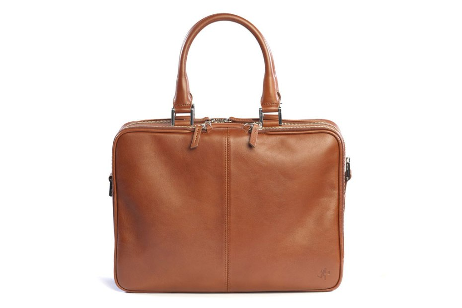 "Image of WANT Les Essentiels de la Vie Trudeau 14"" Leather Bag"