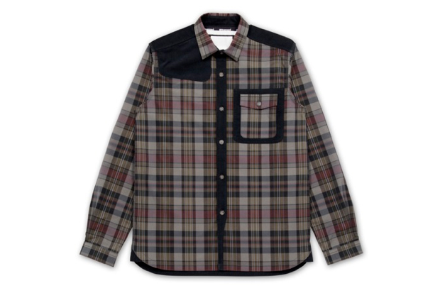 Image of White Mountaineering for RESTIR Tartan Shirt