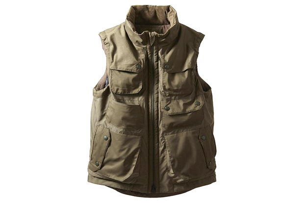 Image of White Mountaineering Militally WINDSTOPPER Luggage Vest