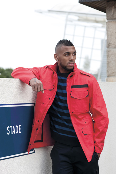 Image of Yann M'Vila: Nike Sportswear 2012 French Football Federation Collection
