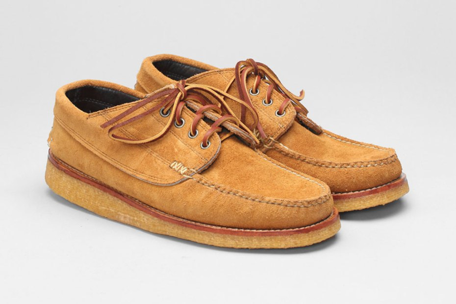 Image of Yuketen Angler Moc With Crepe Wedge Sole