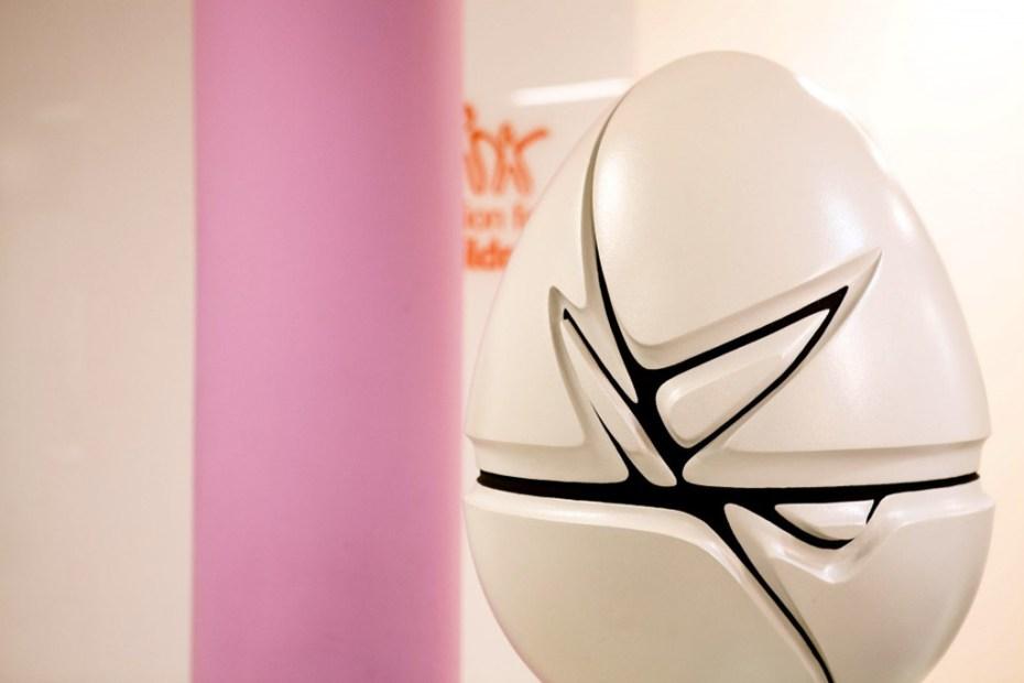 Image of Zaha Hadid x Fabergé Big Egg Hunt