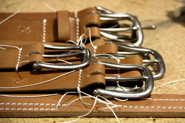 Image of 3sixteen 2012 Heavyweight Stitched Belt