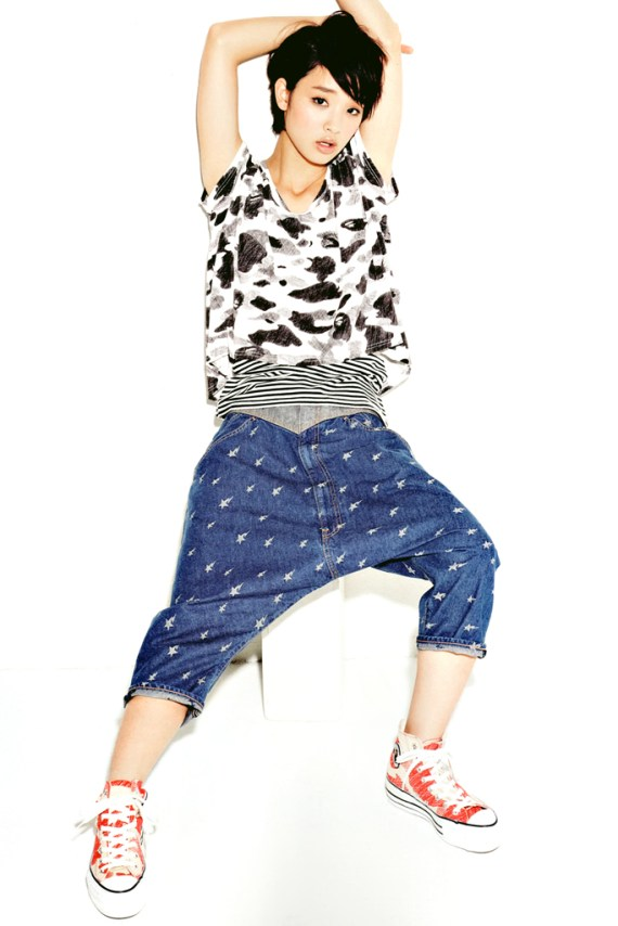 Image of A Bathing Ape Ladies 2012 Summer Collection Featuring Ayame Gouriki