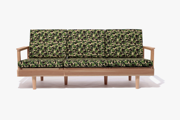 Image of A Bathing Ape x FABRICK x Karimoku CAMO Furniture Collection