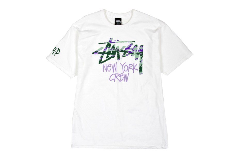 Image of A$AP Mob x Stussy Friends & Family T-Shirt