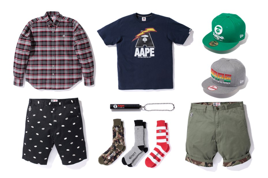Image of AAPE By A Bathing Ape 2012 Spring/Summer Collection