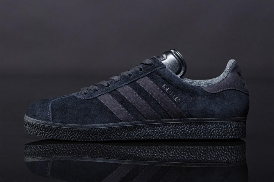 "Image of adidas Originals 2012 Spring Gazelle ""Black Pack"""