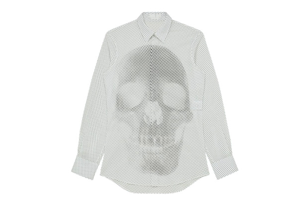 Image of Alexander McQueen 2012 Spring/Summer Skull Dots Shirt