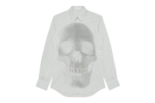 Image of Alexander McQueen 2012 Spring/Summer Skull Dots Shirt