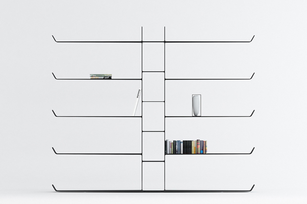 Image of Aliante Bookshelf by Davide Anzalone