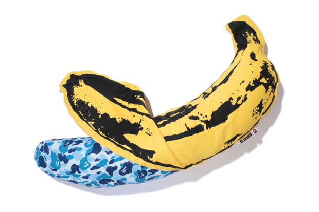 Image of Andy Warhol x Medicom Toy x A Bathing Ape 2012 CAMO BANANA