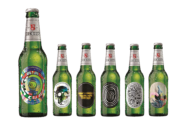 Image of Beck's 2012 Limited Edition Artist Series Bottles