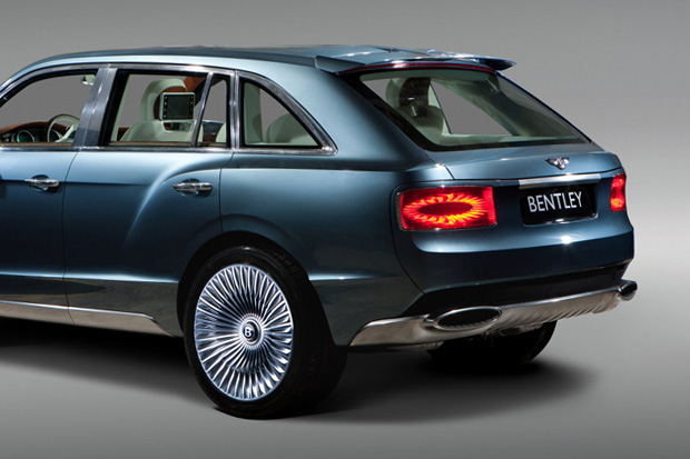 Image of Bentley Debuts EXP 9 F Luxury SUV