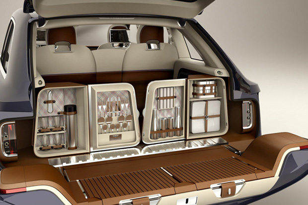 Image of Bentley Debuts EXP 9 F Luxury SUV