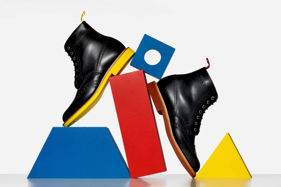 Image of Billionaire Boys Club x Mark McNairy Wingtip Boots