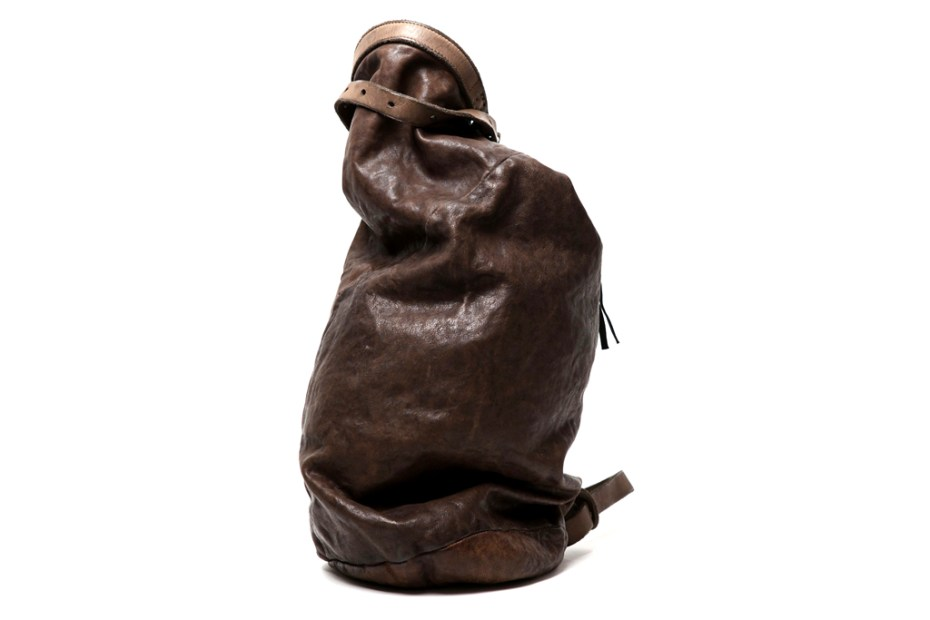 Image of Boris Bidjan Saberi Leather Camping Bag