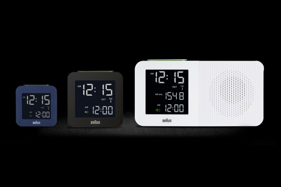 Image of Braun BNC Digital Alarm Clocks