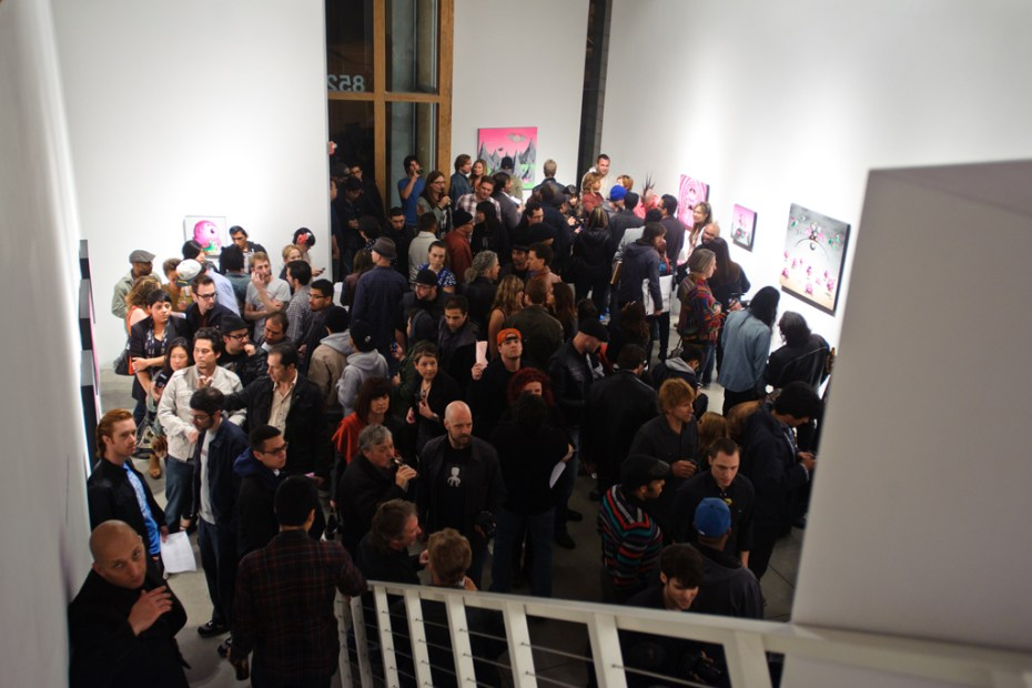 """Image of Buff Monster """"Legend of the Pink Cherry"""" Exhibition @ Corey Helford Gallery Recap"""