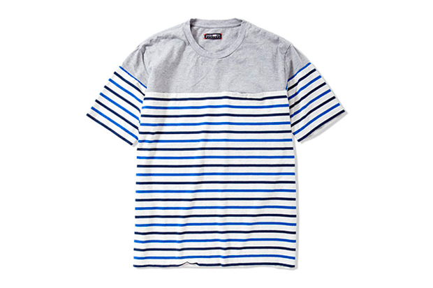 Image of CASH CA 2012 Spring/Summer PANEL BORDERS SS T-Shirt