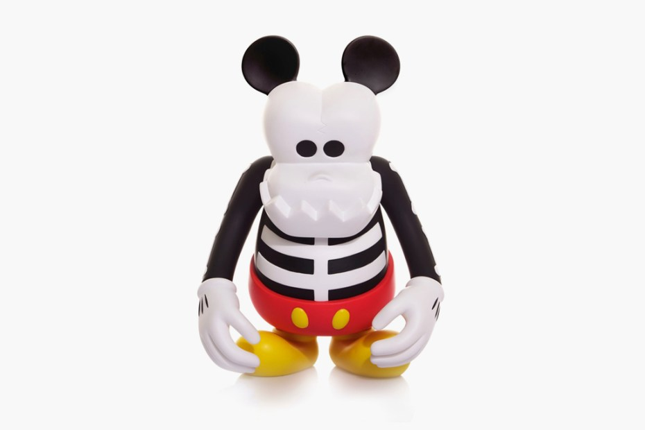 Image of CLOT & Disney x MindStyle x BOUNTY HUNTER Skull Kun Mickey