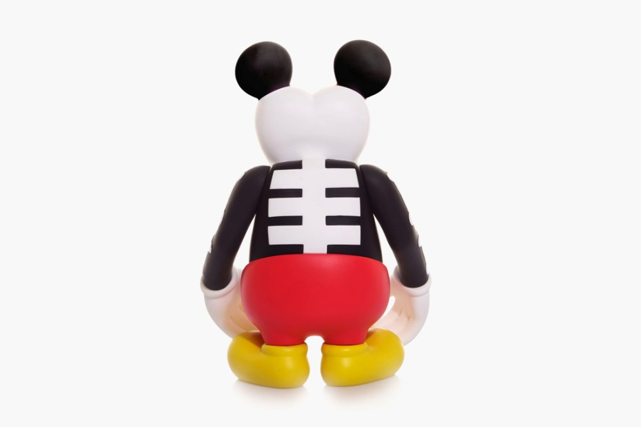 Image of CLOT & Disney x MindStyle x BOUNTY HUNTER Skull Kun Mickey