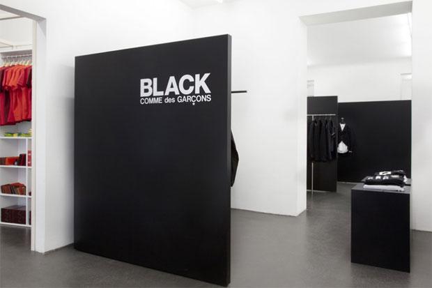 Image of COMME des GARCONS BLACK Store & POCKET Store Berlin