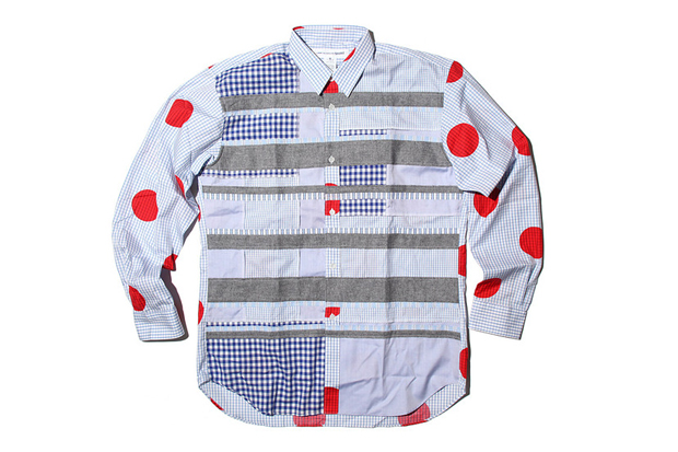 Image of COMME des GARCONS SHIRT 2012 Spring/Summer Mix Pattern Shirts