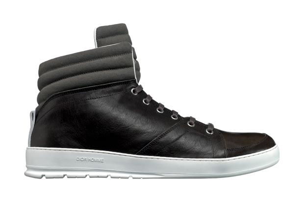 Image of Dior Homme Black Tie Sneaker